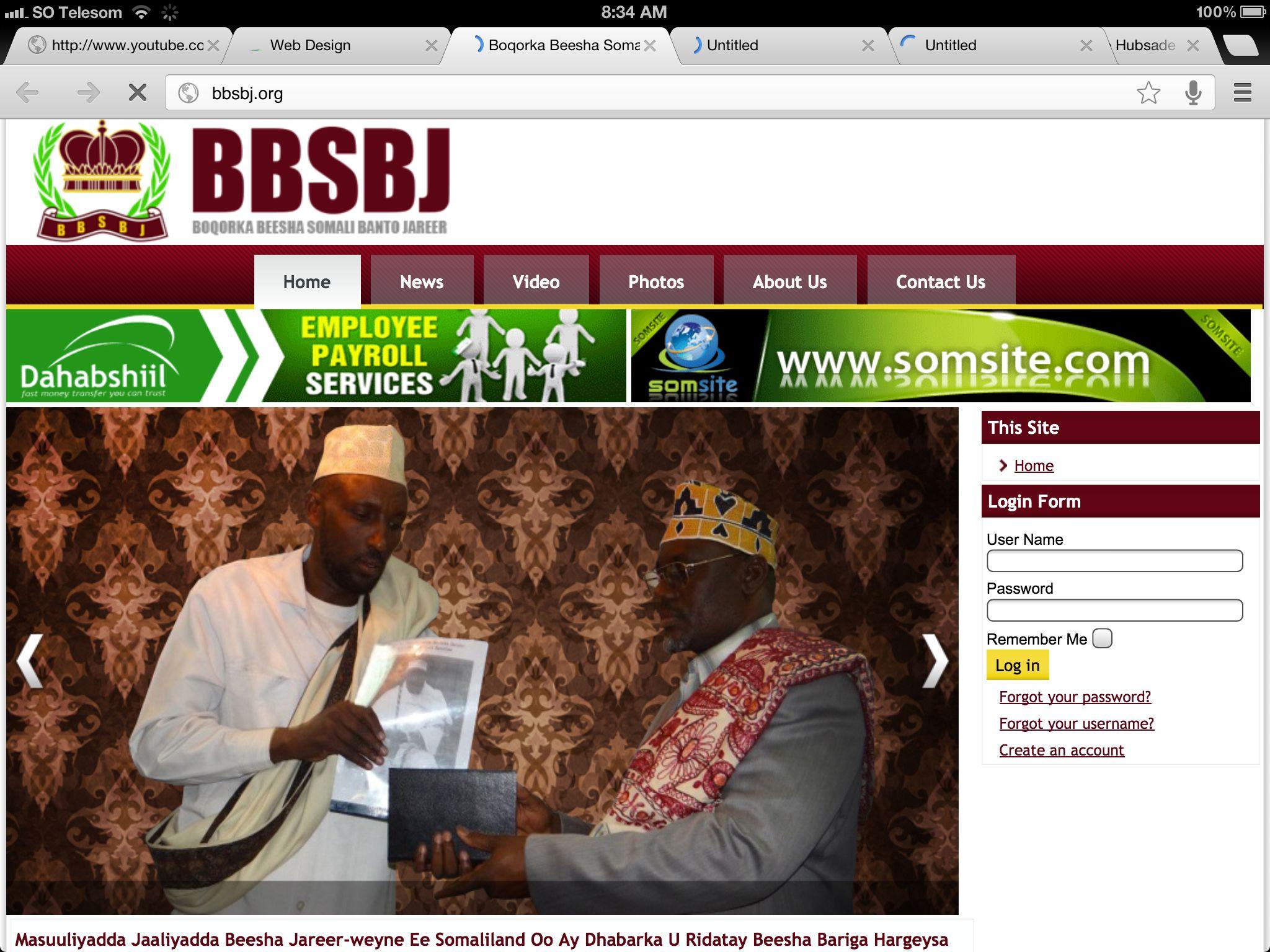 Bbsbj Website Web Design Login Form Home Login