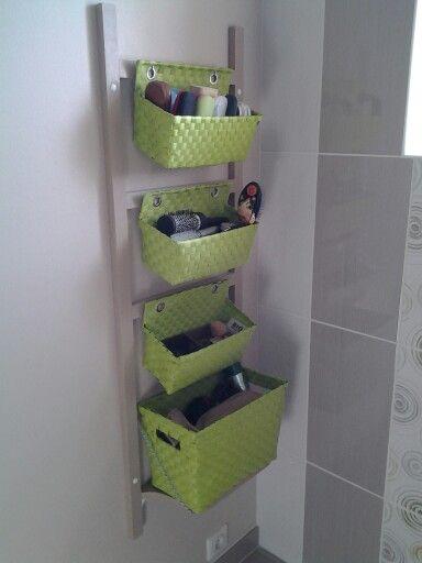 32+ Echelle rangement salle de bain ideas