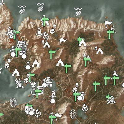 Witcher 3 Interactive Map Skellige Map Interactive Map Interactive