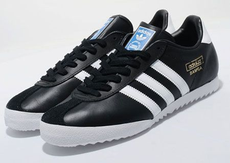 the best attitude 9d399 13683 adidas bamba  Adidas Bamba trainers reissued in black and white variations