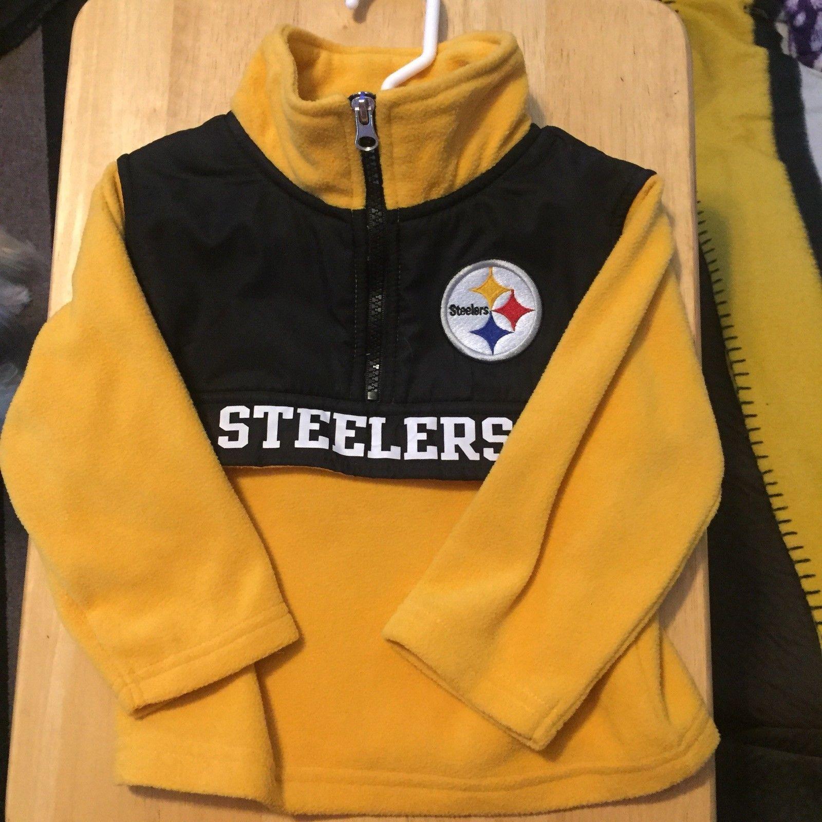 8ec6c308c NFL Team Apparel Fleece Zipper Jacket Used Child Size 2 Toddler ...