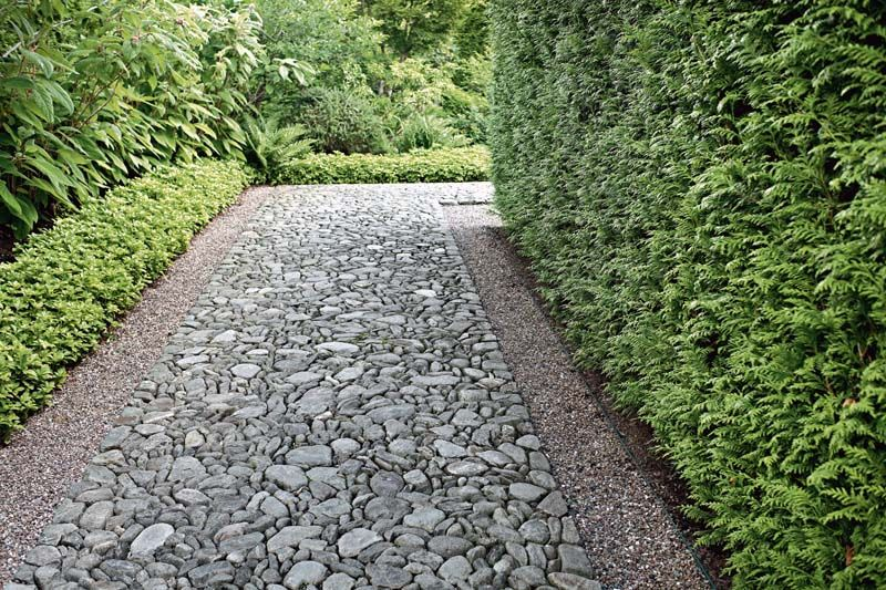 Kies ? Einfach, Edel Und Zeitlos | Gärten, Ferienhäuschen Und Wells Gartenwege Aus Kieselsteinen Garten Anlegen