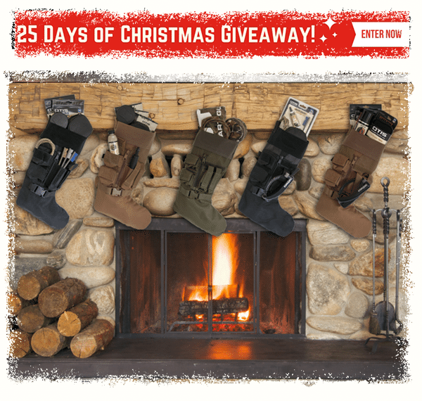 25 Days of Christmas, 25 Winners!  Daily Winner will receive a tactical stocking full of gear from Otis and other great brands!  Which stocking are you hoping to win?