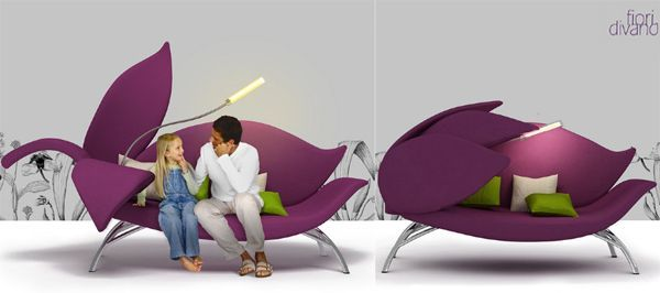 Flower Sofa To Snuggle You In Most Comfy Way | Designbuzz : Design Ideas  And Concepts
