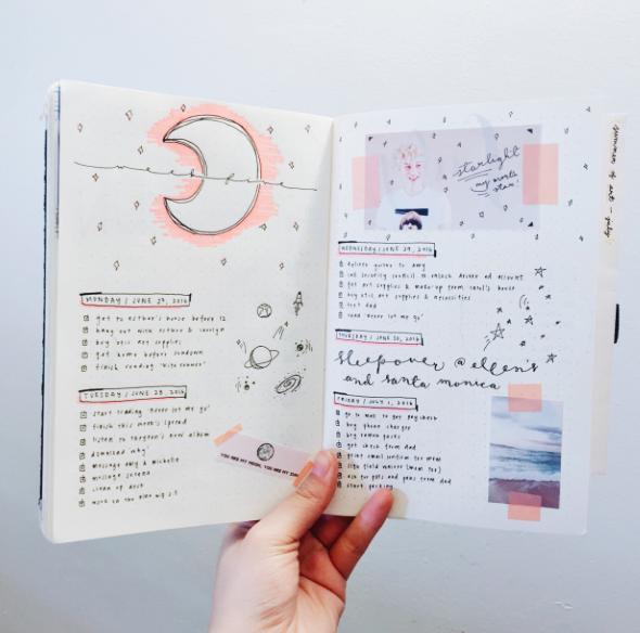 bullet journal ideas from bullet journal inspiration. Black Bedroom Furniture Sets. Home Design Ideas