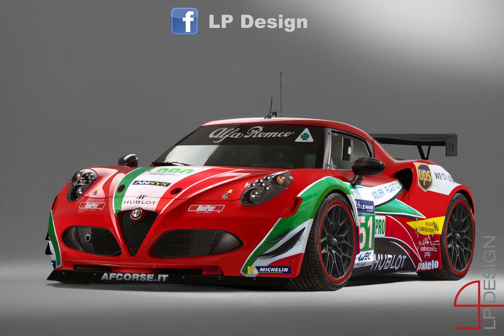 Alfa Romeo 4c Gt3 Af Corse By Renxo93 Cars Old And New Alfa