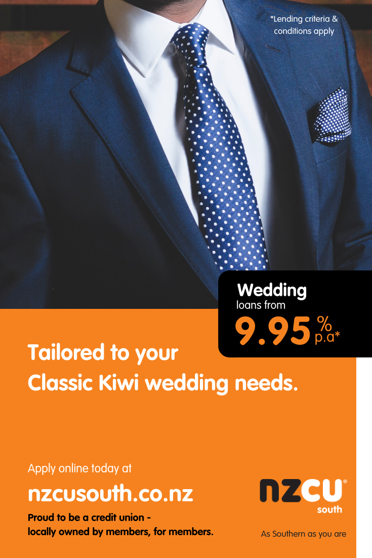 Tailored to your Classic Kiwi wedding needs. Suit up and