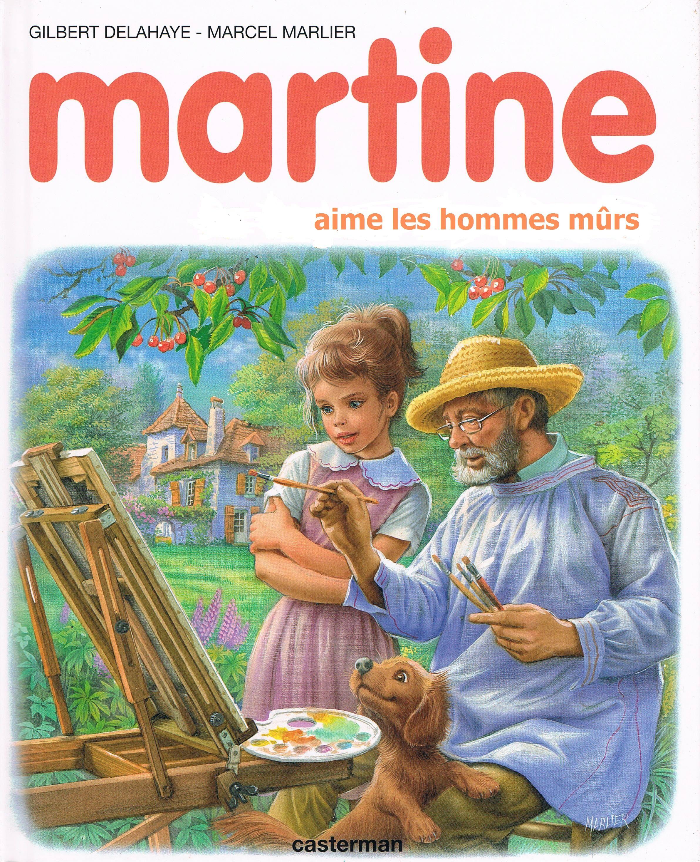 Martine Aime Les Hommes Murs Martine Humour Images Droles