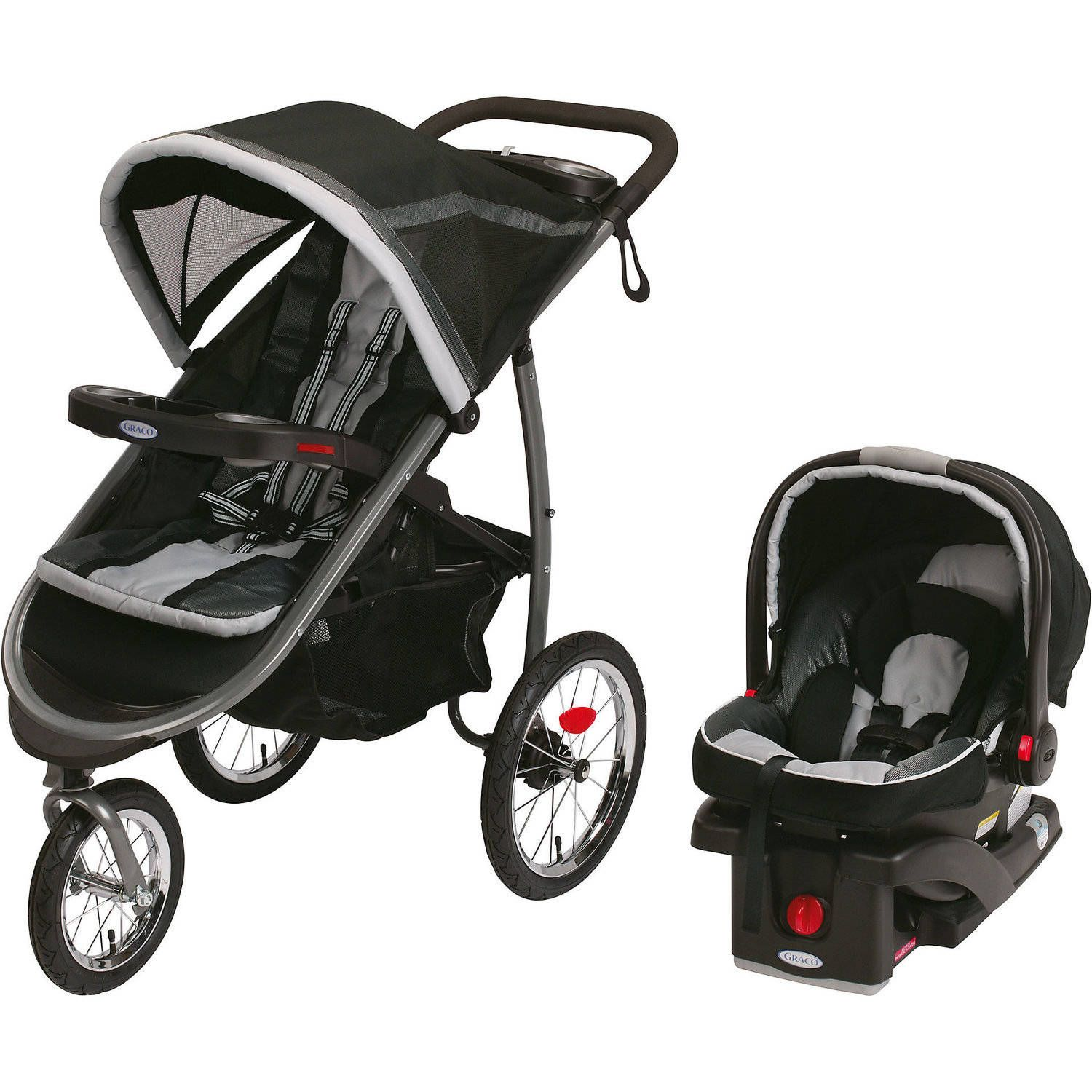 Baby Travel systems for baby, Graco stroller, Click
