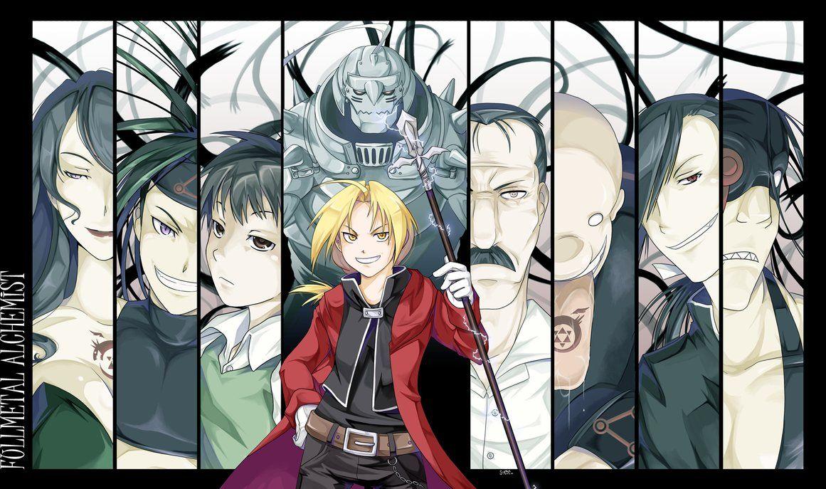 Fullmetal Alchemist Brotherhood Envy Wallpaper