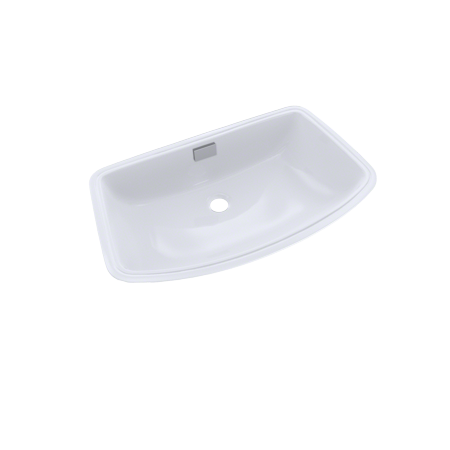 Toto Soire Arched Front Rectangular Undermount Bathroom Sink Cotton White Lt967 01 Undermount Bathroom Sink Wall Mounted Bathroom Sinks Sink