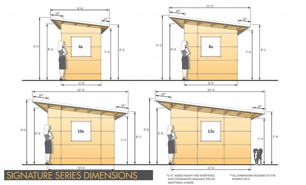 Prefab backyard studio home office sheds plan design for Design your own barn