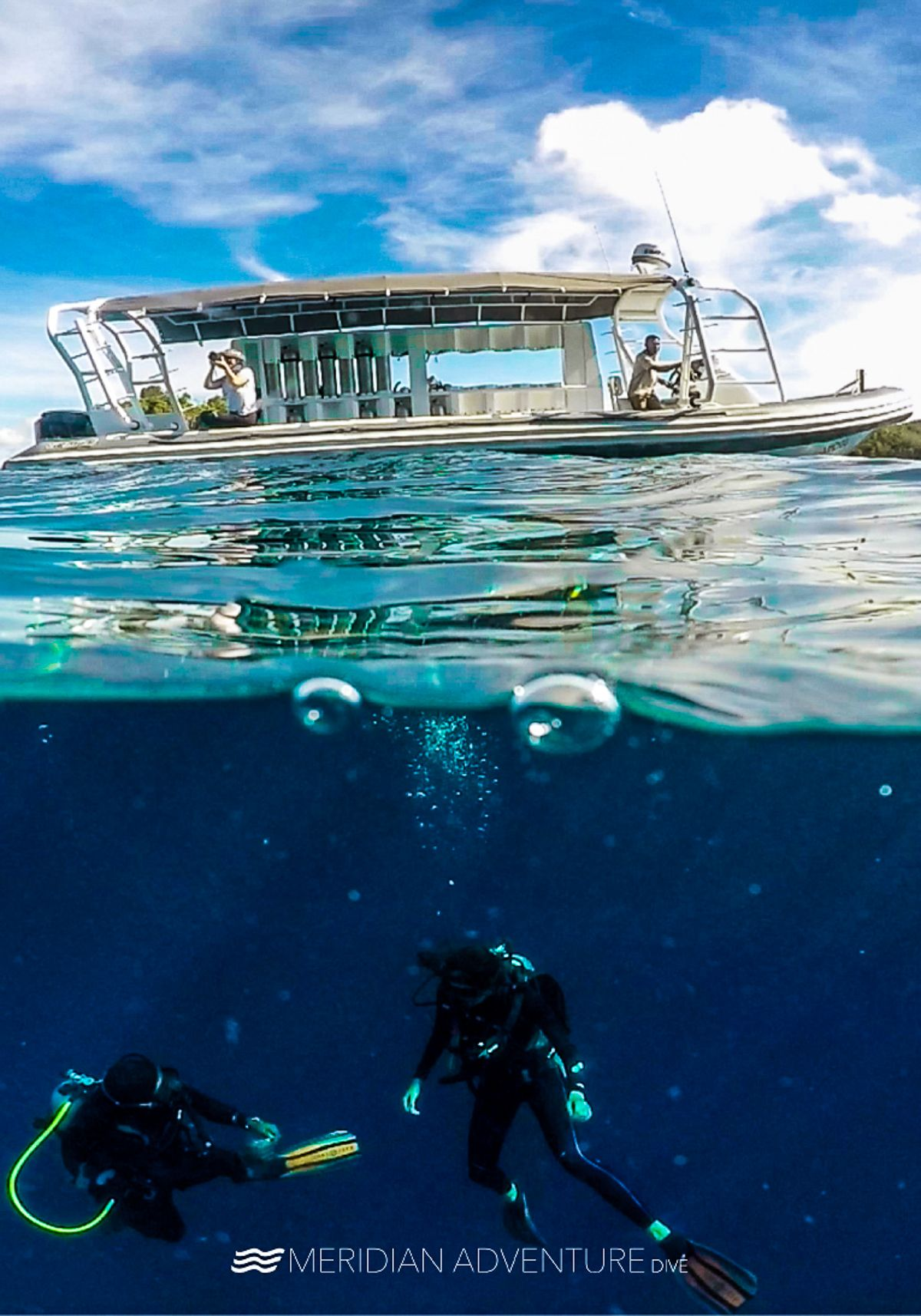 Views From Above And Below The Surface Meridianadventuresdive Indonesia Ocean Padi Photooftheday Scubadiving Uwphot Scuba Diving Dive Resort Diving