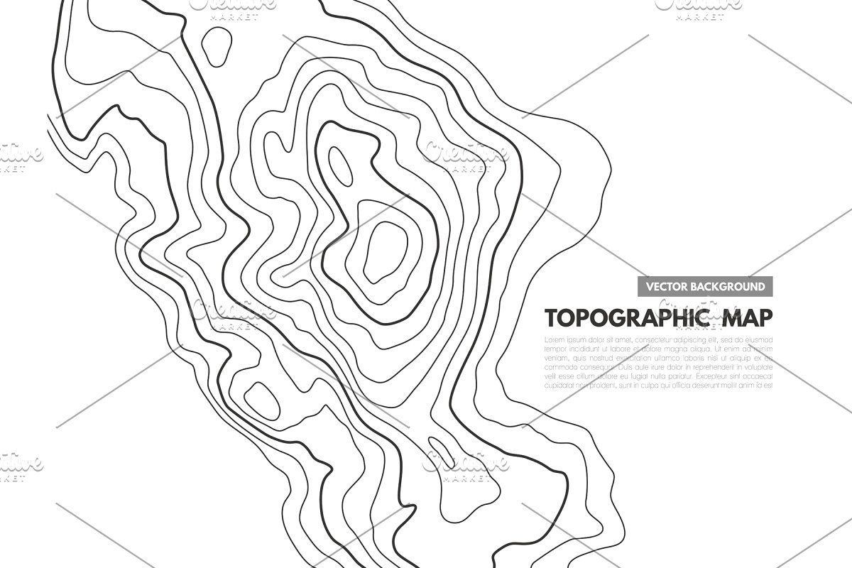 Topographic Map Geographical In