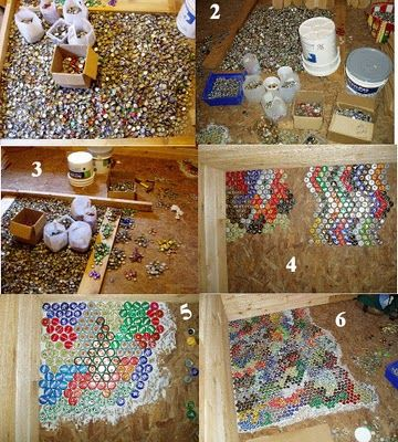 Bottle Cap Floor Bottle Cap Crafts Bottle Top Crafts Resin Crafts