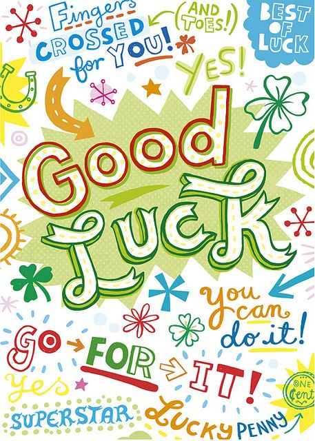 Good Luck Students, Exam motivation and Motivational