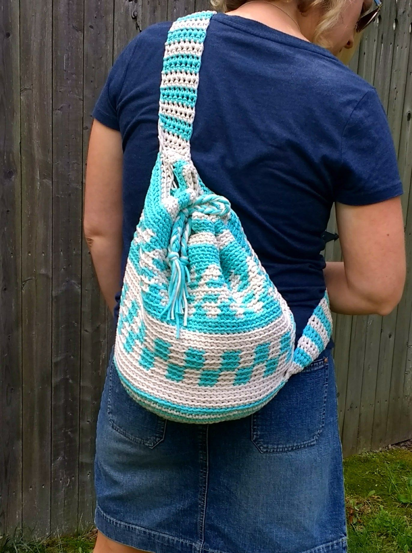 Mochila Bag - Free pattern by | Pinterest