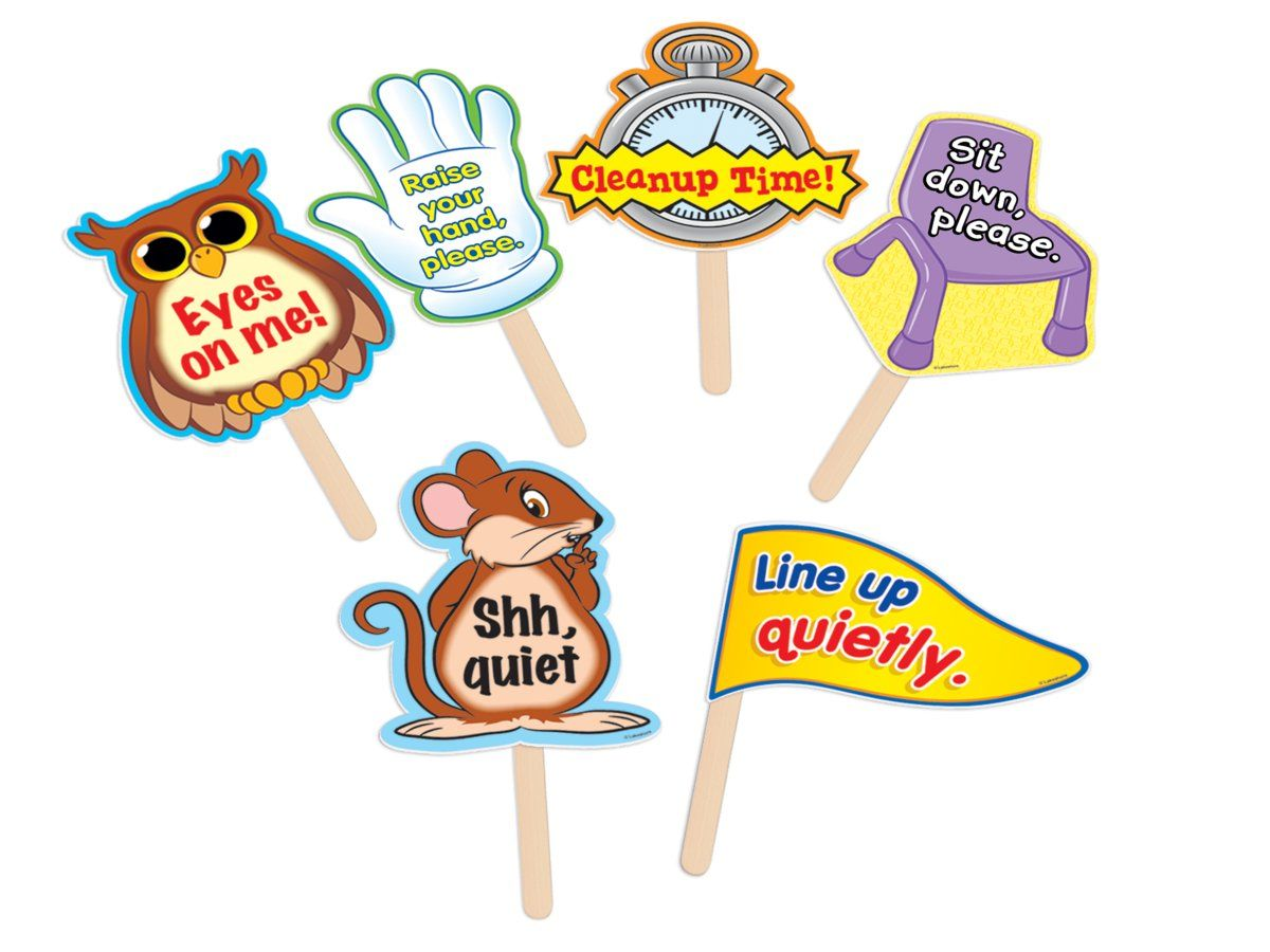 Classroom Management Signs In