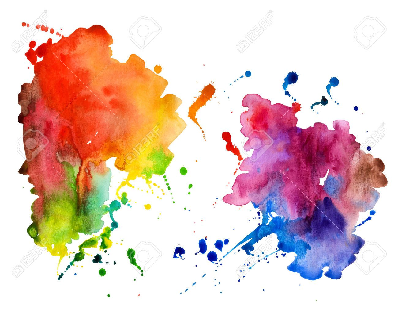 Watercolor Splatter Transparent Google Search Seni