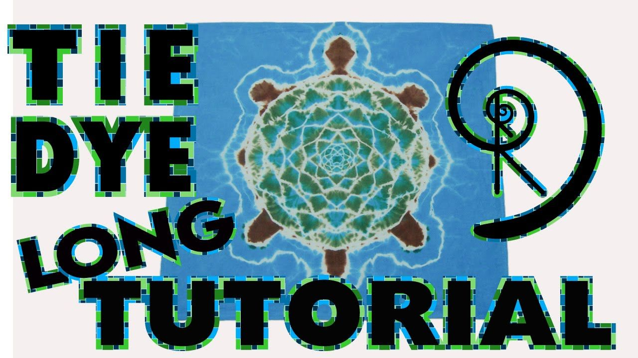 66f57591810b How to tie dye tur Mandala and Turtle step by step instructions YouTube