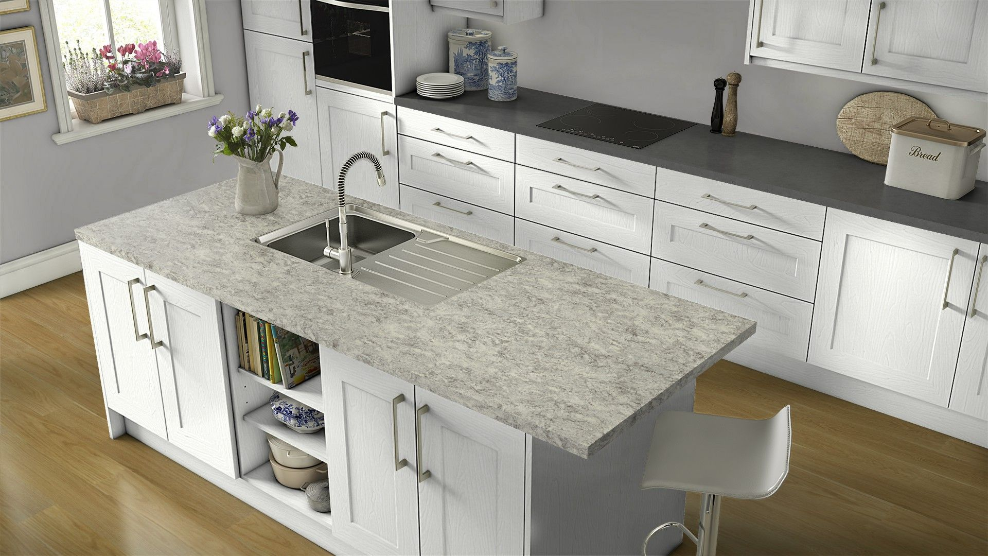 Get Inspired For Your Kitchen Renovation With Wilsonart S Free Visualizer