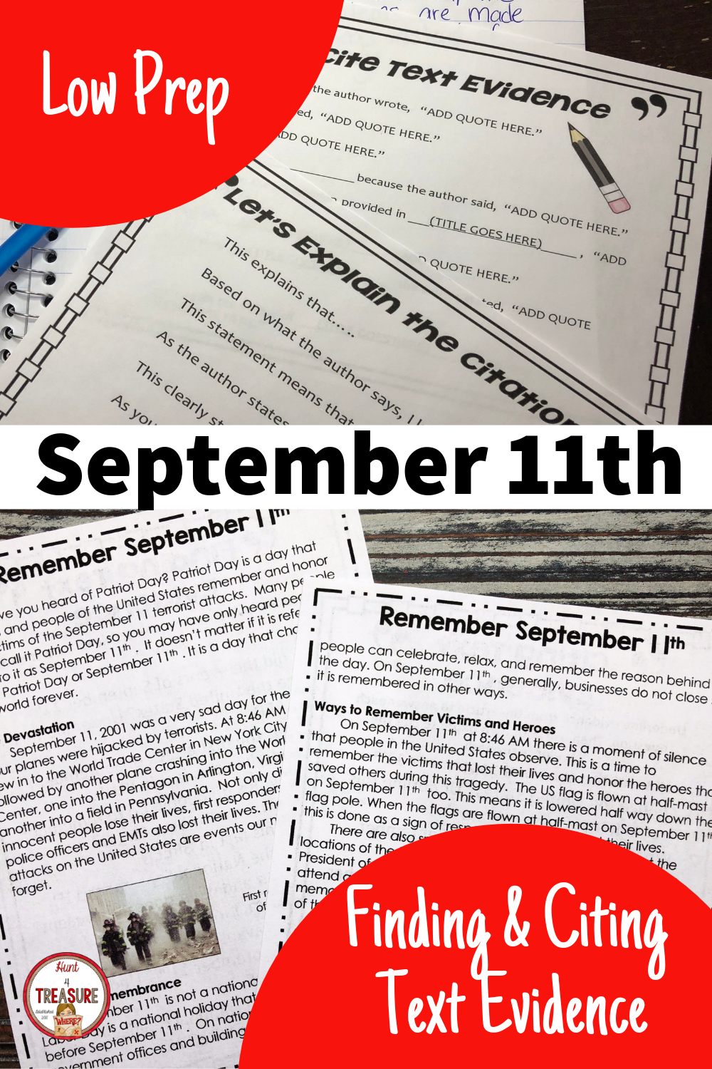 September 11th Reading Passage Finding And Citing Text Evidence Citing Text Evidence Text Evidence Text Evidence Activities [ 1500 x 1000 Pixel ]