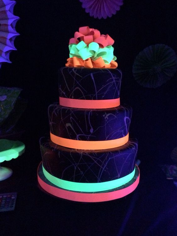 25+ glow in the dark quinceanera ideas | quinceanera ideas