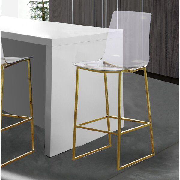 Cayden Counter Stool Counter Stools Bar Stools Gold