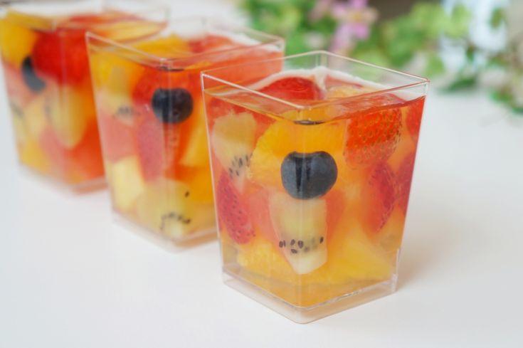 Želé s ovocím