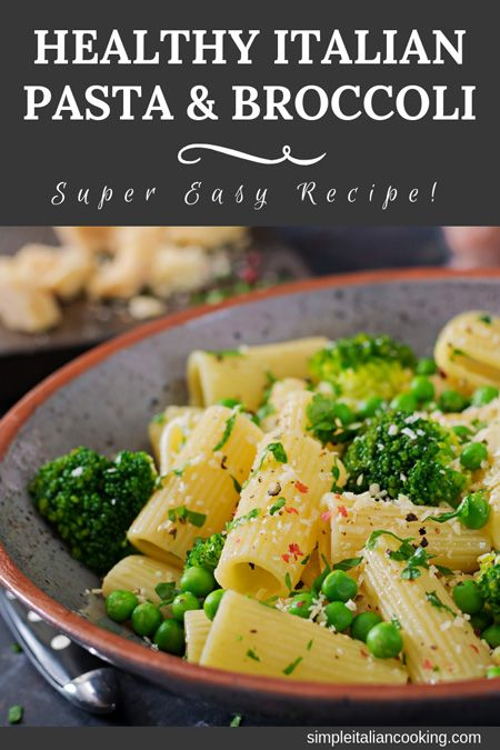Photo of Pasta and Broccoli Italian Recipe – amazingly easy!