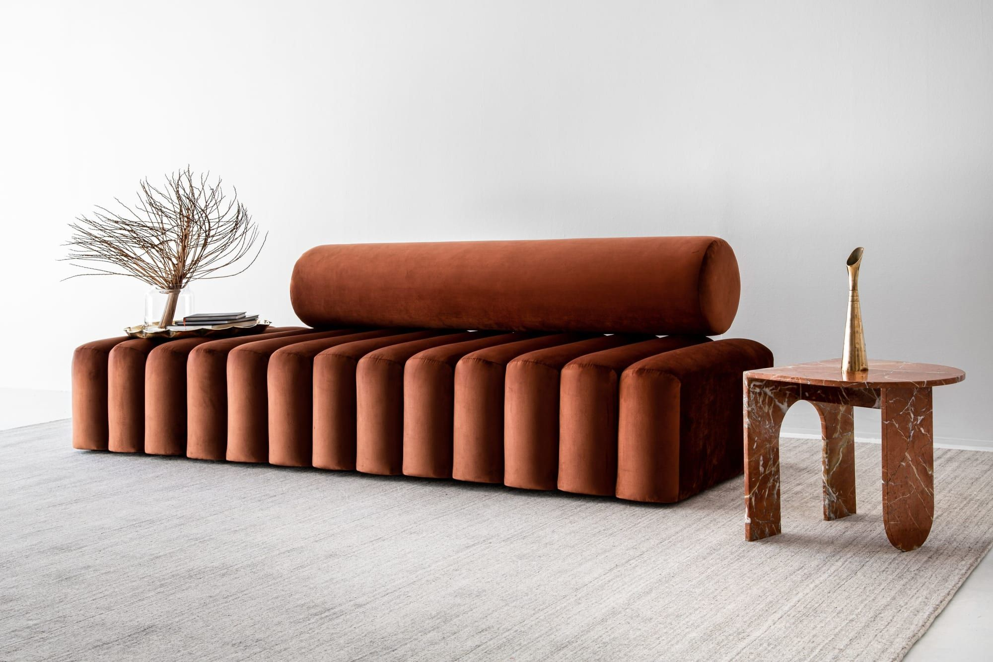 Couches Sofas New Moon Couch Curved Furniture Furniture