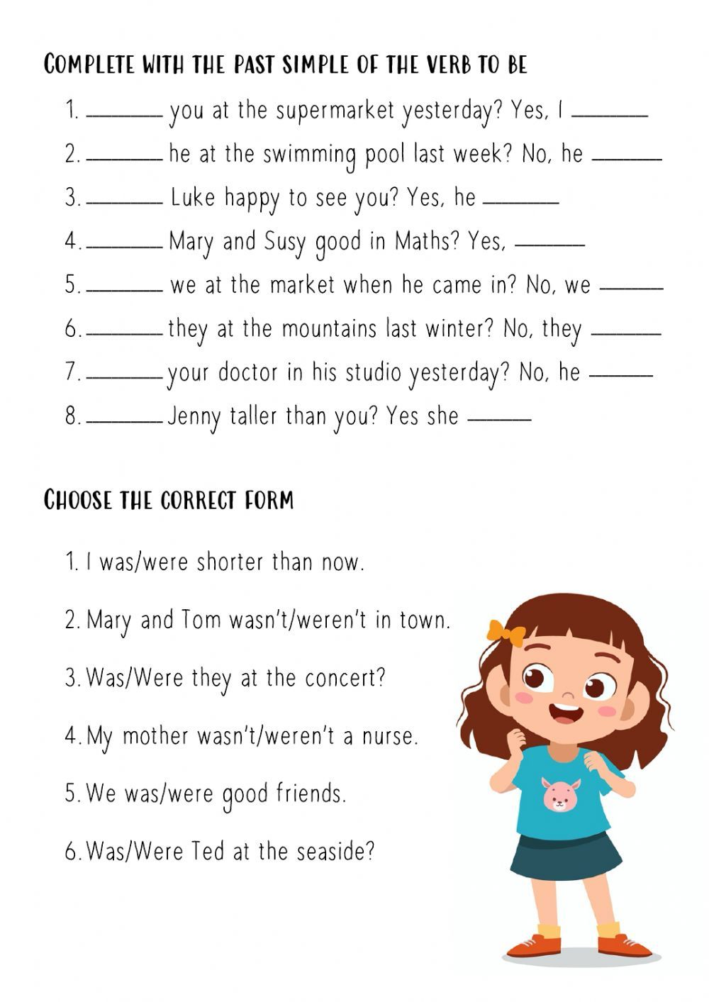 Past Simple To Be Interrogative Form Interactive Worksheet English Worksheets For Kids Teaching English Grammar Verb To Be Past [ 1413 x 1000 Pixel ]