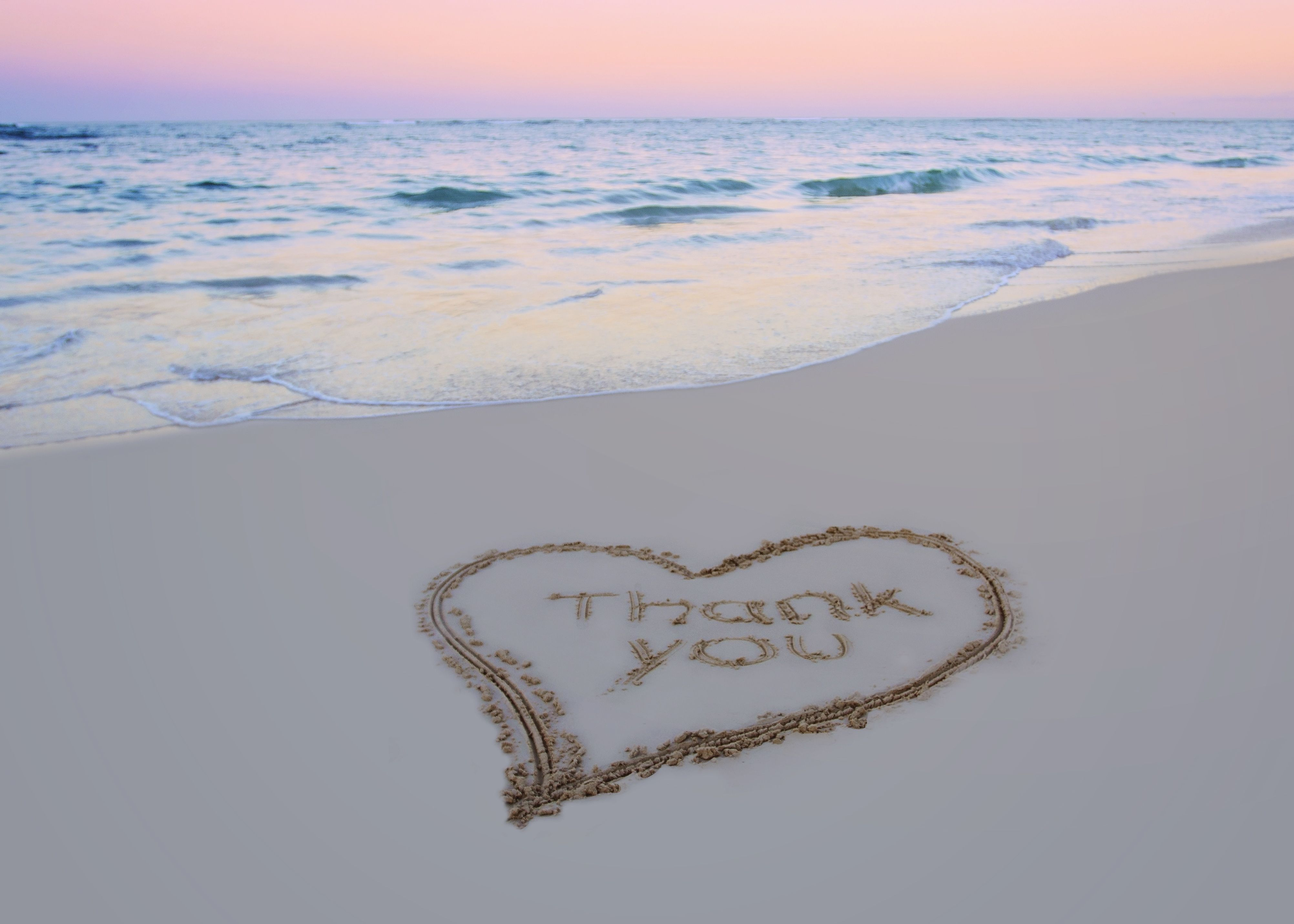 Our Beach wedding, pic taken for thank you, wedding card