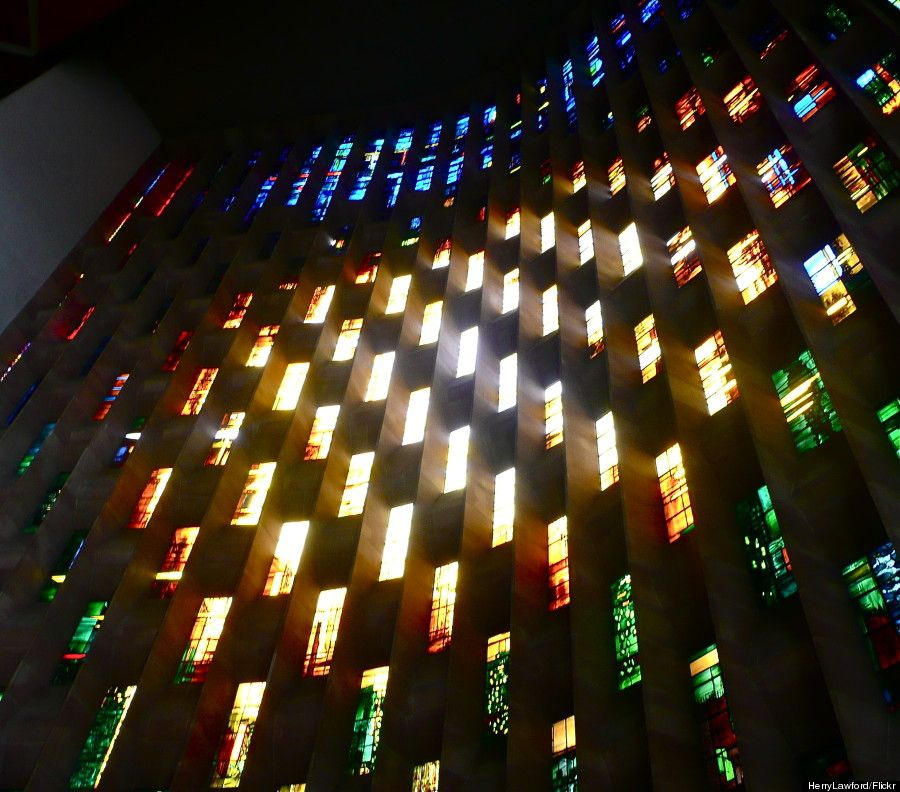 coventry cathedral window - Coventry Cathedral, Coventry, UK