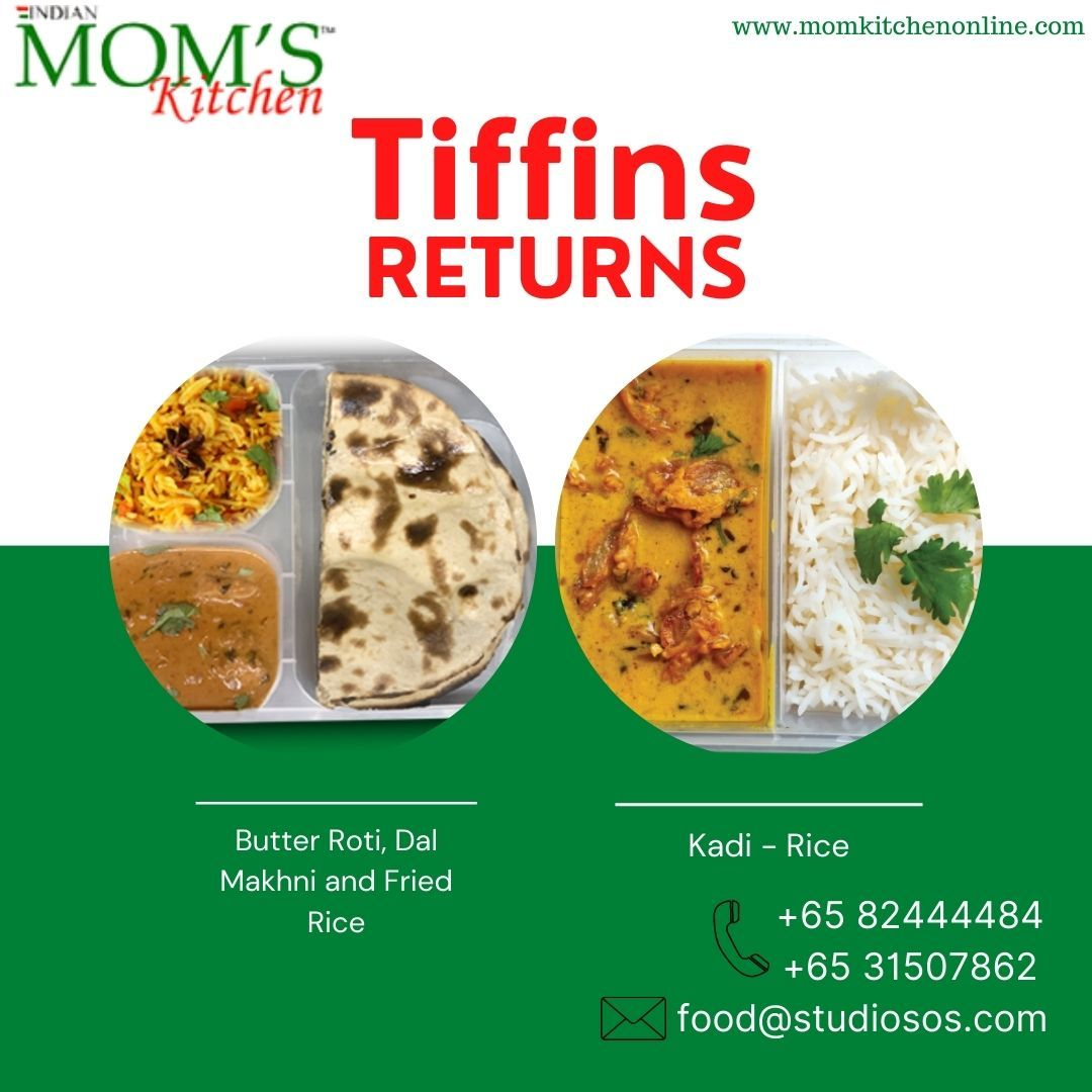 Tiffin Services In Singapore North Indian Food Moms Kitchen Indian Food Recipes Food Indian Food Catering