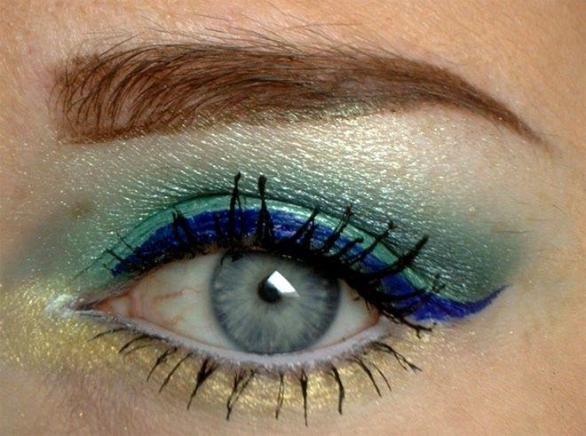 Sailor Neptun inspired makeup by http://cristinohneh.blogspot.de/2016/04/sailor-neptun-blogparade.html