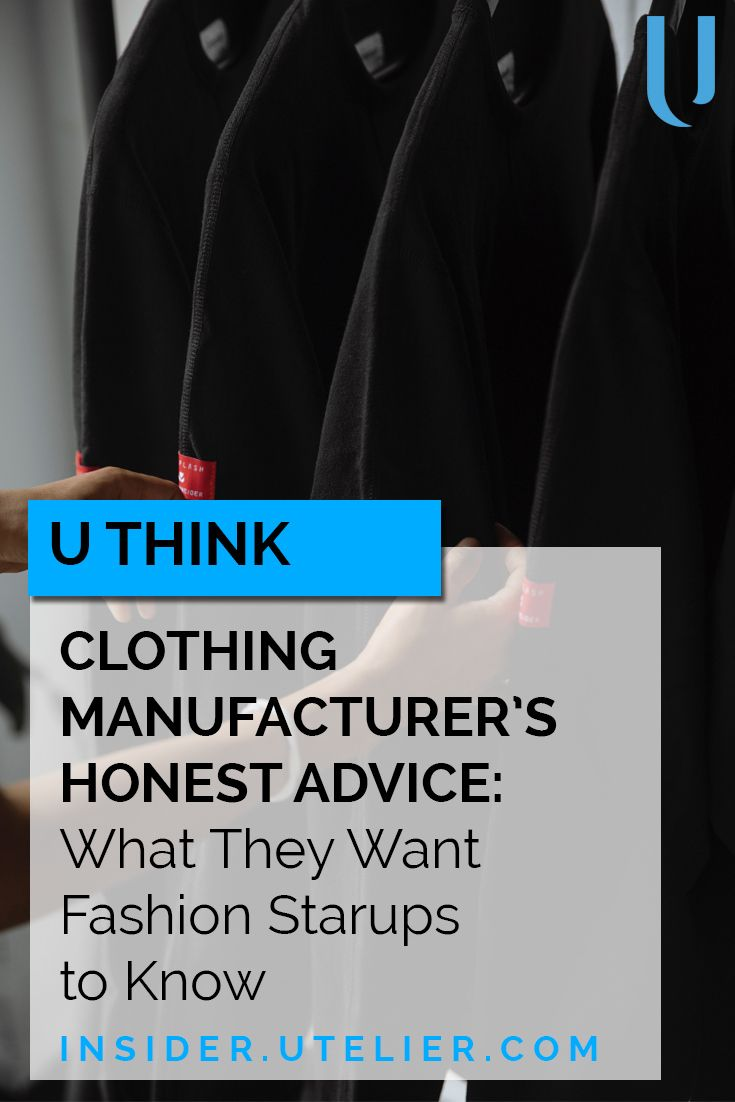 clothing manufacturers for startups a clothing manufacturer