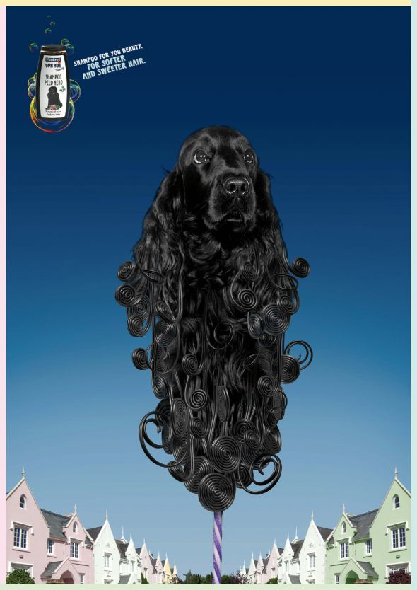 Vitakraft For You Beauty Shampoo: Sweet black dog | Ads of the World™