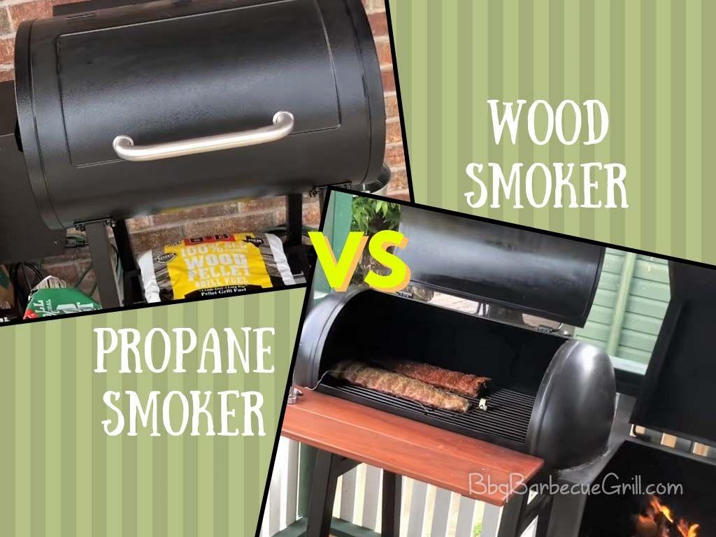 The benefits of a propane smoker vs. a wood smoker differ ...