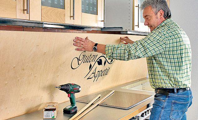 kuchenruckwand holz kuchenspiegel tipps, küchenrückwand aus holz | küche | pinterest, Design ideen