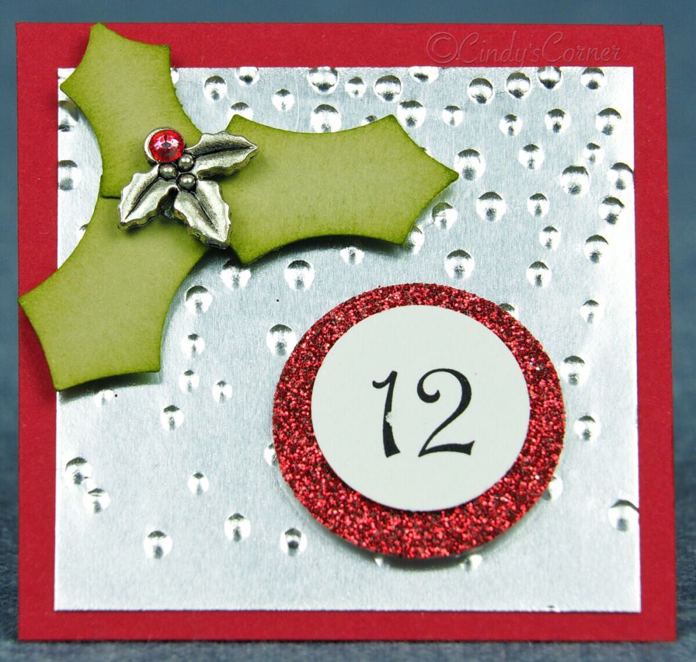 Advent Calendar Countdown to Christmas Day 12