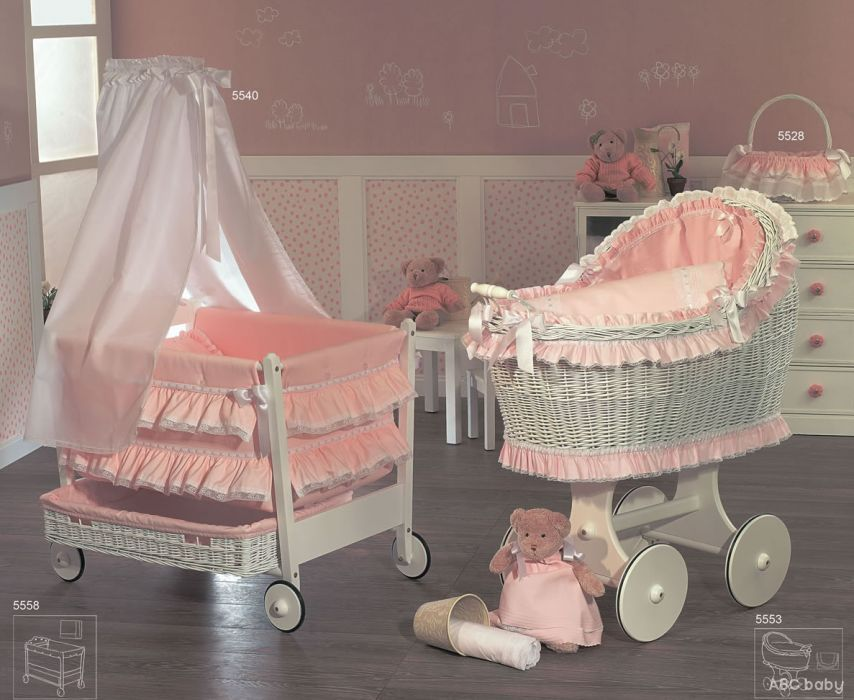 I Love Baby Cribs On Wheels Doll Bassinet Baby Cribs Bassinet