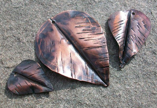 Copper leaves  by stacilouise, via Flickr