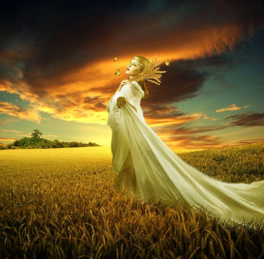 Demeter (Ceres) - Greek Goddess of Harvest, Fertility and ...