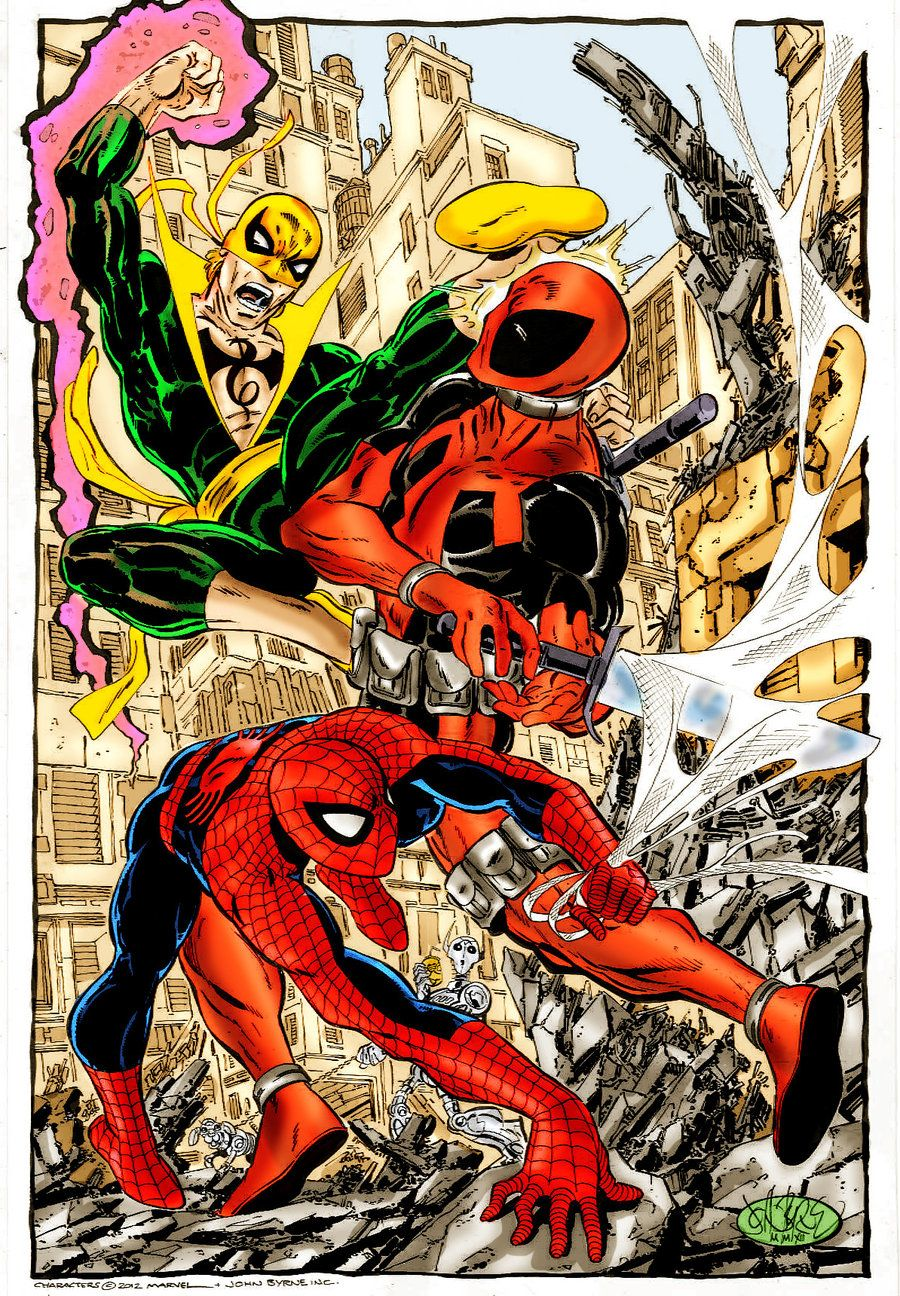 Spiderman and iron fist