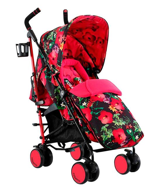Cosatto Supa Stroller Lightweight Umbrella Fold Pushchair Dragon Kingdom
