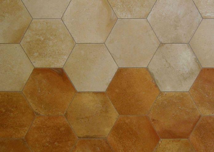 Cotto From Grestec Tiles Hexagon Trend Tiles