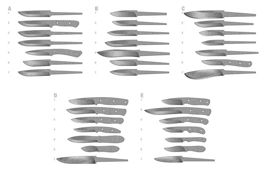 судя формы для ножей в картинках нарезаем