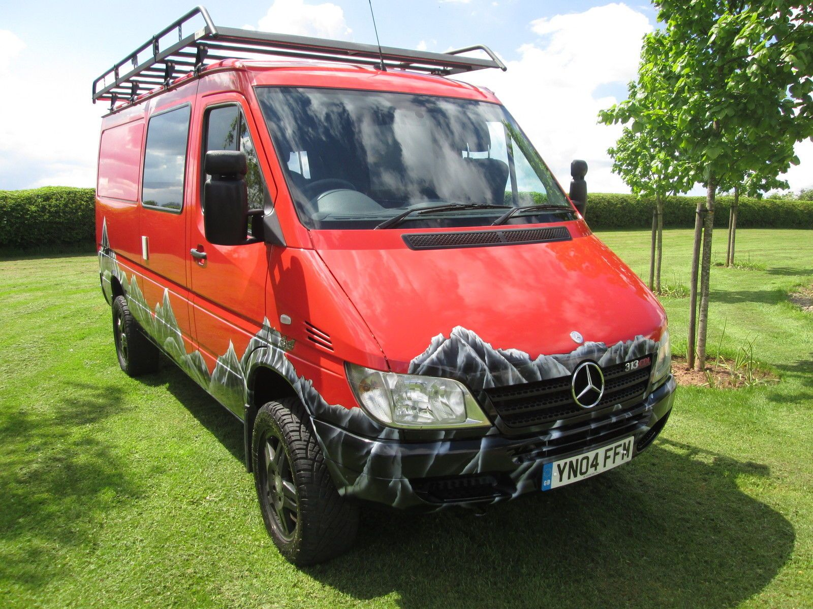 Mercedes sprinter 4x4 race camper van brand new conversion amazing mercedes sprinter 4x4 mercedes sprinter and van living