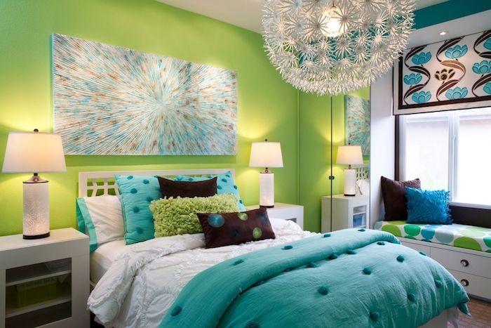 Peinture chambre fille \u2013 variez les palettes Chambre ado Pinterest